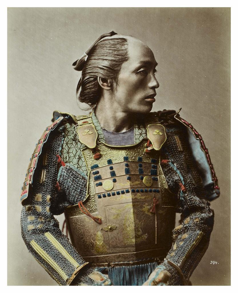 Stillfried_-_Samurai