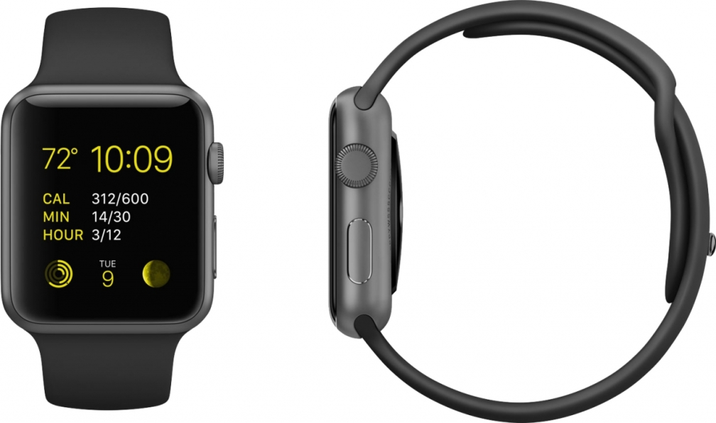 Apple Watch Sport space gray
