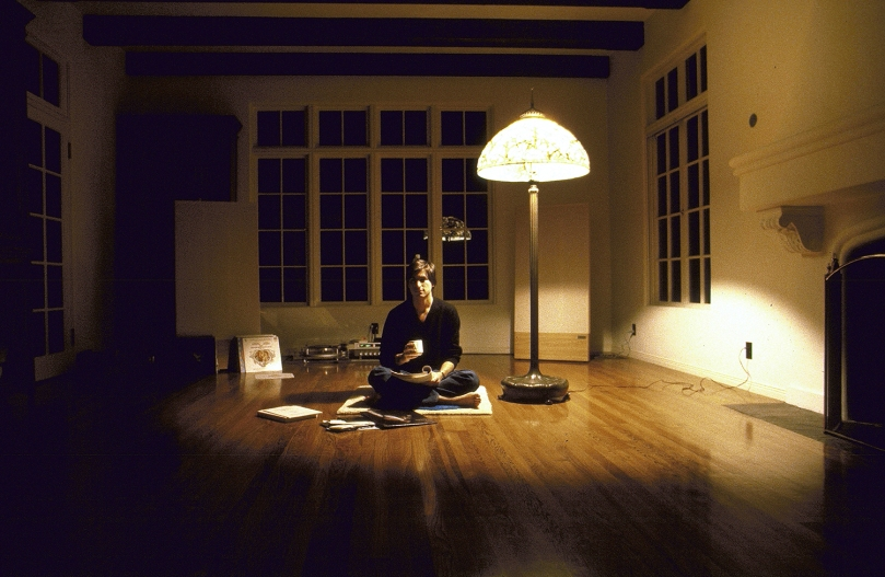 WOODSIDE, CA - DECEMBER 15: CEO of Apple Steve Jobs sits at his home in Woodside, CA on December 15, 1982. IMAGE PREVIOUSLY A TIME & LIFE IMAGE. (Photo by Diana Walker/SJ/Contour by Getty Images)